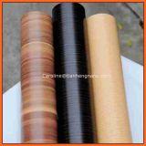 Film chaud de PVC de vente en gros de la couleur 2016 en bois de marbre décoratifs