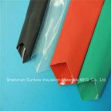 L'adesivo ha allineato il tubo doppio sottile dello Shrink di calore della poliolefina della parete