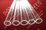 diametro 100 X Length1000mm di formato del tubo del quarzo della fornace della valvola elettronica dell'atmosfera 1200c