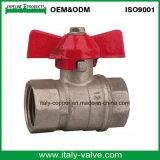 Le laiton de Ce&ISO a modifié le robinet à tournant sphérique mâle (AV-BV-1042)