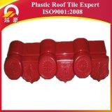 El plástico coloreado cubre la hoja china de los azulejos de azotea de la resina sintetizada del PVC