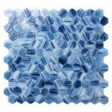 Mattonelle di mosaico di vetro della piscina del reticolo di mosaico della fusione calda del pavimento di Bathrooom