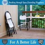 강철과 PP 회색 정원을%s 가진 옥외 플라스틱 접는 의자