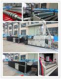 UPVC Belüftung-doppelte Schicht-Dach-Fliese-Strangpresßling-Zeile/Plastikextruder
