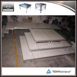 Projeto portátil de alumínio do estágio de Ajustable do evento ao ar livre