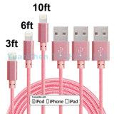 Cabo cobrando rápido do USB do preço de fábrica para iPhone6/6s/5/5s/Se/6plus/6s mais