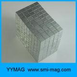 강한 3X3X3mm, 5X5X5mm 의 10X10X10mm Neocube 자석