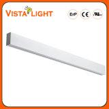 30W aquecem a luz linear do diodo emissor de luz da iluminação branca da barra para hotéis