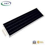 20W PIR integrierter LED Solargarten des Fühler-/Straßenlaterne