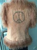 Maglia falsa della maglia di pace/pelliccia di modo