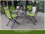 A cadeira de alumínio de dobramento de Teslin da mobília ao ar livre ajustou-se para o lazer