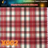 在庫の商品! ジャケット(X001-4)のための最も安いポリエステルヤーン染められた小切手によって編まれるファブリック