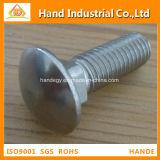Quadratische Stutzen-Schraube des Edelstahl-DIN603 M12