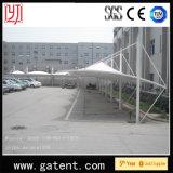 Tienda impermeable al aire libre del garage del coche de la tienda del estacionamiento del coche de la tienda del Carport para 20 coches