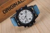 Reloj de encargo del acero inoxidable de la muñeca del deporte de Squartz de la manera para el hombre y la mujer
