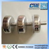 Magnete magnetico della holding del POT di NdFeB del filetto del neodimio dei magneti esterni del POT