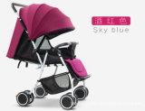Прогулочная коляска младенца малышей высокого качества сидя лежа складывая (ly-a-11)