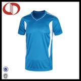 Futebol feito sob encomenda Jersey do preço barato de três cores para meninos
