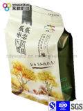 Подгонянный мешок плоского дна упаковывая с Ziplock для всей легкой закускы