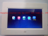 Reloj del calendario del LCD