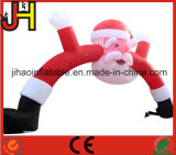يعلن قابل للنفخ عيد ميلاد المسيح قوس [سنتا] كلاوس لأنّ زخرفة