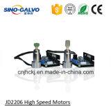 Cabeça popular Jd2206A da marcação do Galvo do laser da alta velocidade para o dispositivo da marcação do laser do CO2