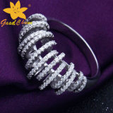 星の安い純銀製のリングの十分のStsr-16113008のヨーロッパおよびアメリカの風の大気