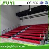 Bleacher telescopico di ginnastica del Bleacher della disposizione dei posti a sedere dello stadio dell'HDPE del fornitore di Jy-750 Cina