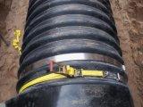 渦巻状に金属によって補強される波形の管のための電子融合の帯の溶接の接合箇所のE-Fバンド