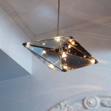 Lámpara pendiente moderna del vidrio LED para la decoración