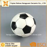 Batería de moneda de cerámica temática de fútbol del deporte de encargo del balón/batería guarra
