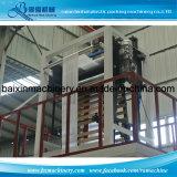 A máquina fundida película de HDPE/LDPE com Giratório-Morre a dobadoura principal e dobro