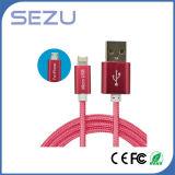Fabrik direkt 2 in 1 Daten-Kabel flexiblem USB-multi Aufladeeinheits-Daten-Kabel für den Android und iPhone (rot)