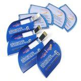 Mecanismo impulsor foliforme del flash del USB de la tarjeta para el plástico promocional del regalo
