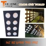 Warm White Stage Decoration COB LED Audiência Blinder Light