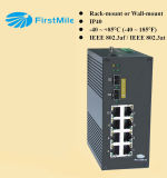Switch Gigabit Ethernet industrial Gestionado interruptor Poe
