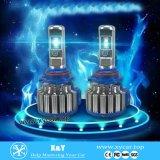 4000lm automobile luminosa eccellente LED H4 chiaro, lampadina inclusa H4 del faro dell'automobile LED dello S1 del chip di Csp dalla fabbrica di Lanseko