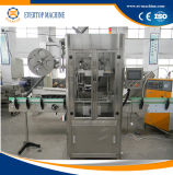 Machine à étiquettes de bouteilles de prix usine de chemise automatique de rétrécissement