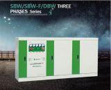 Régulateur de tension triphasé complètement automatique de compensation de modulation de SBW-F-1200kVA