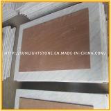 China Bianco Carrara Guangxi White Round Dining / Coffee Table Top