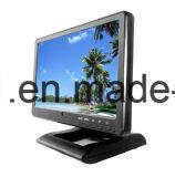 un VGA da 10.1 pollici, DVI, avoirdupois, video dell'affissione a cristalli liquidi di HDMI TFT con lo schermo attivabile al tatto