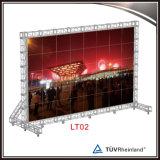 Fascio di alluminio portatile esterno per l'attaccatura dello schermo del LED