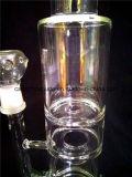 Narguilé en verre en verre bon marché de Shisha de pipe de fumage A57 avec le vaporisateur