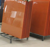 2つのカラーパターンが付いているシルクスクリーンによって印刷されるガラス