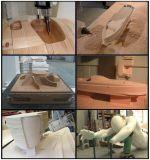 4 machine de gravure en bois de découpage de commande numérique par ordinateur du couteau de l'axe 1325 3D