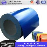 Bobina de alumínio revestida cor, bobina de aço revestida cor de Ral 5016