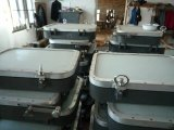 Marinelieferungs-Boots-örtlich festgelegtes rechteckiges Fenster für Radhaus
