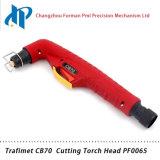Сварочный огонь факела плазмы воздуха головки факела PF0065 Trafimet CB70