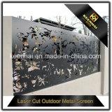 Panneau en aluminium perforé extérieur de frontière de sécurité coupé par laser de tôle