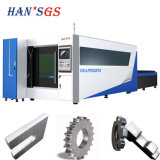 Machine à découper au laser à fibre métallique CNC avec bouclier de sécurité